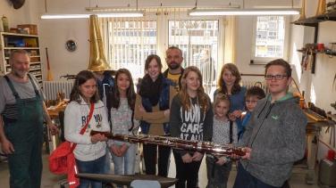 In der Instrumentenwerkstatt Reisser